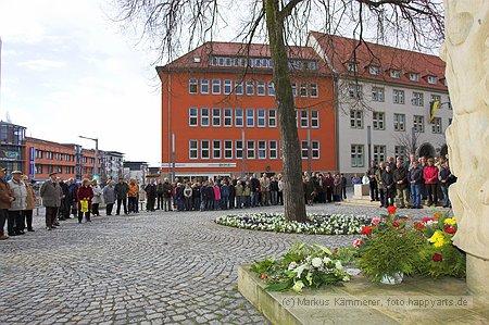 Kranzniederlegung Nordhausen
