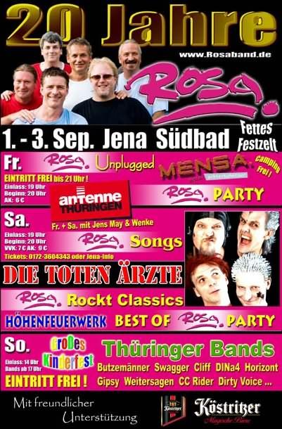 20 Jahre Rosa