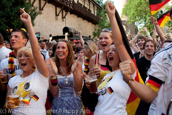 HG4X1007-4854 WM Jubel Deutschland - Argentinien