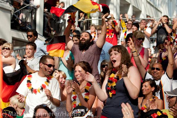 HG4X1007-4992 WM Jubel Deutschland - Argentinien