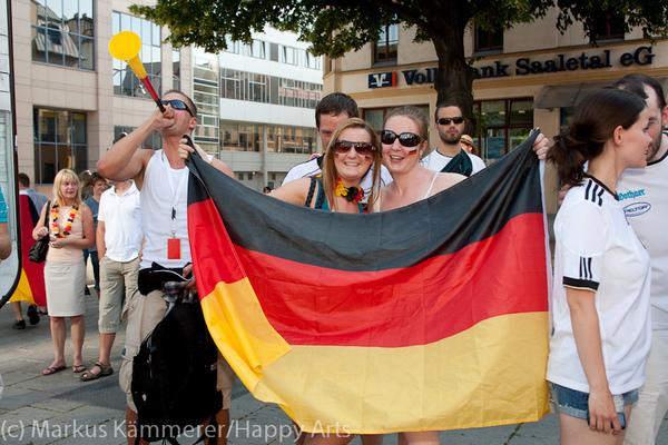 HG4X1007-5025 WM Jubel Deutschland - Argentinien