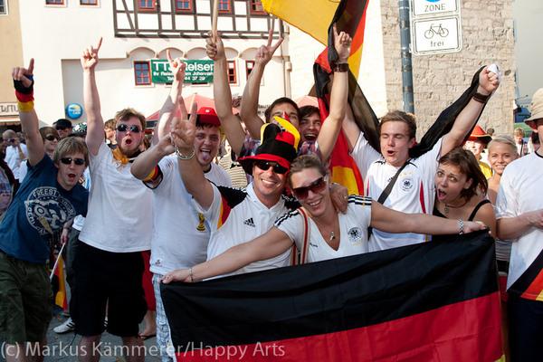 HG4X1007-5043 WM Jubel Deutschland - Argentinien