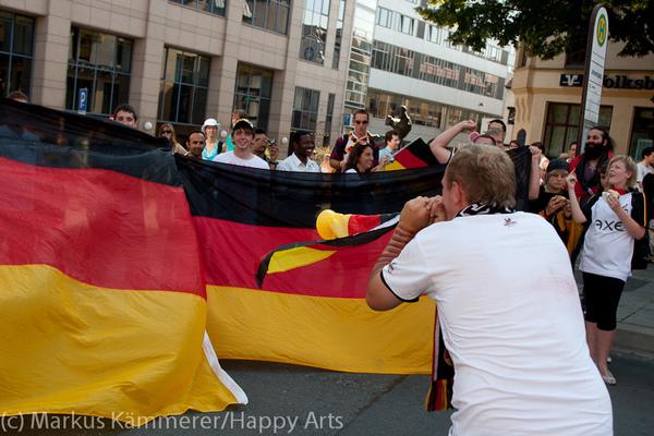 HG4X1007-5058 WM Jubel Deutschland - Argentinien