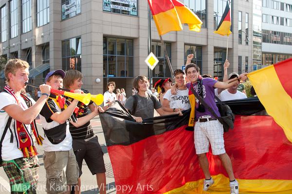 HG4X1007-5087 WM Jubel Deutschland - Argentinien