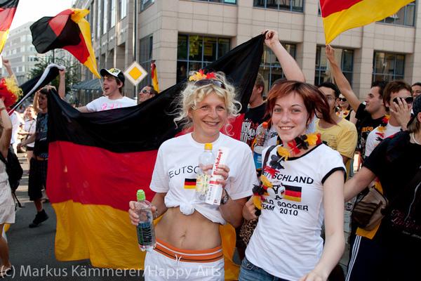 HG4X1007-5106 WM Jubel Deutschland - Argentinien