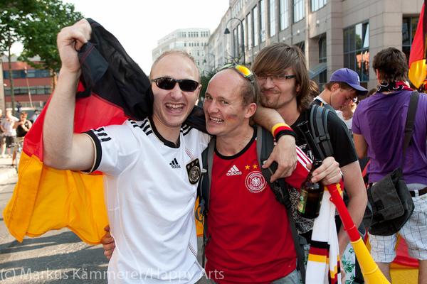 HG4X1007-5116 WM Jubel Deutschland - Argentinien