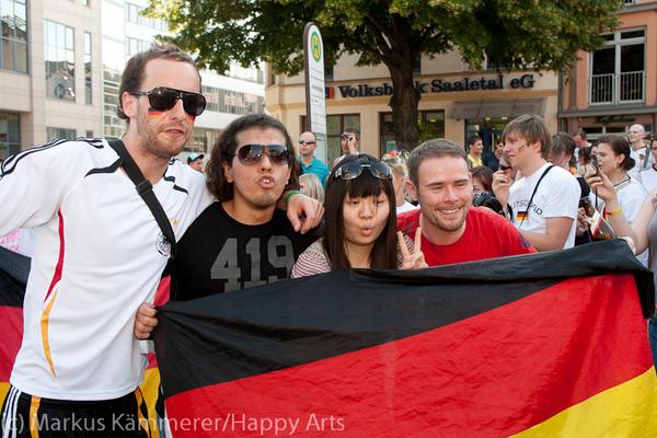 HG4X1007-5121 WM Jubel Deutschland - Argentinien