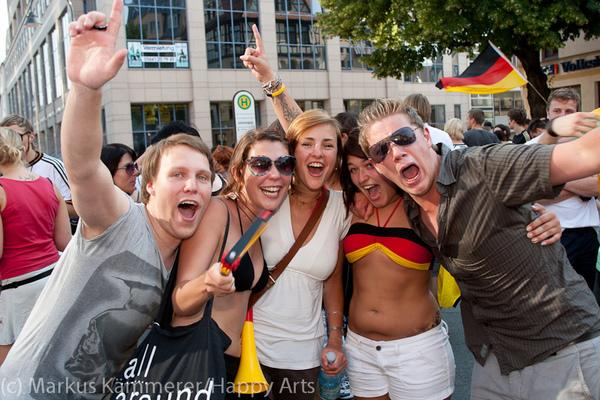 HG4X1007-5140 WM Jubel Deutschland - Argentinien