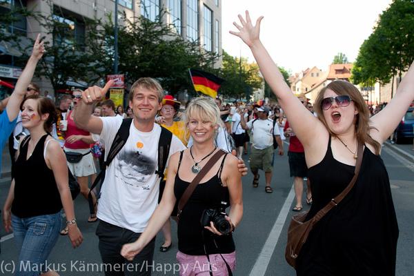 HG4X1007-5163 WM Jubel Deutschland - Argentinien