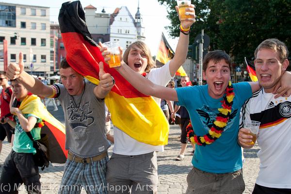 HG4X1007-5217 WM Jubel Deutschland - Argentinien
