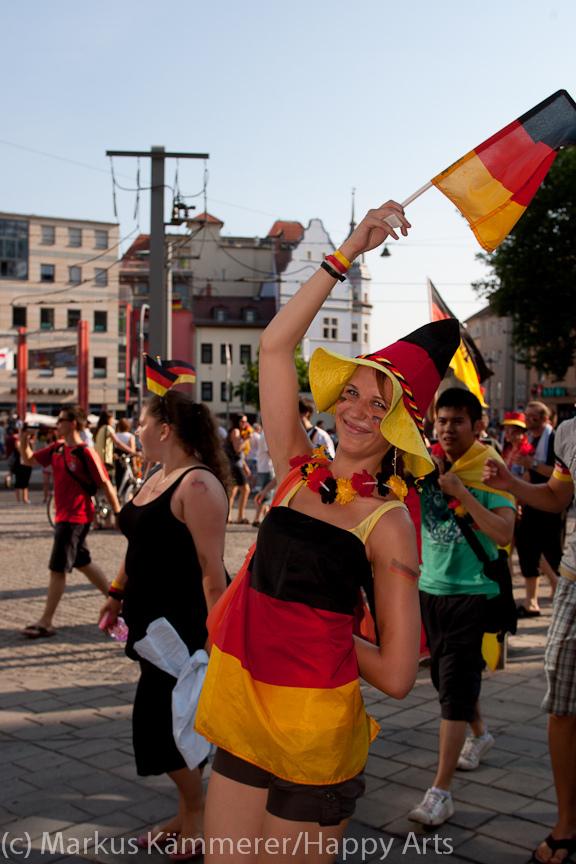 HG4X1007-5221 WM Jubel Deutschland - Argentinien