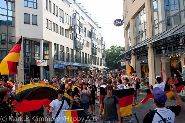 HG4X1007-5225 WM Jubel Deutschland - Argentinien