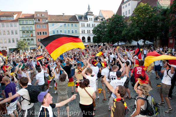 HG4X1007-5292 WM Jubel Deutschland - Argentinien