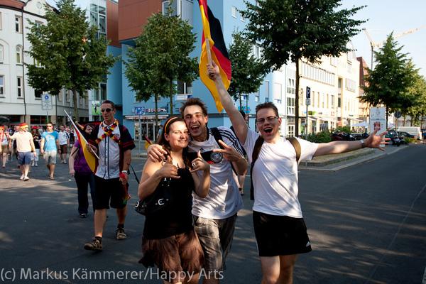 HG4X1007-5327 WM Jubel Deutschland - Argentinien