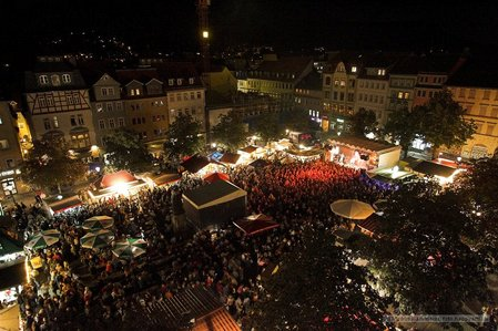 Altstadtfest Jena - Rockband Rosa