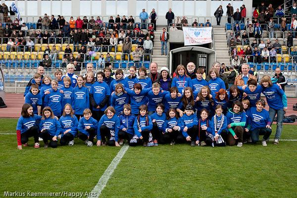 Nachwuchsspieler des FF USV Jena
