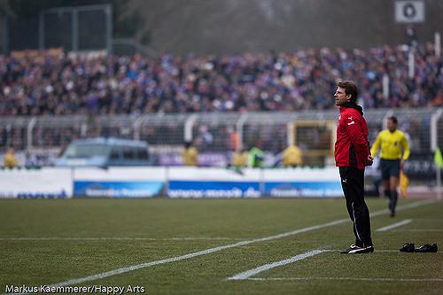 Rico Schmitt - Trainer FC Erzgebirge Aue