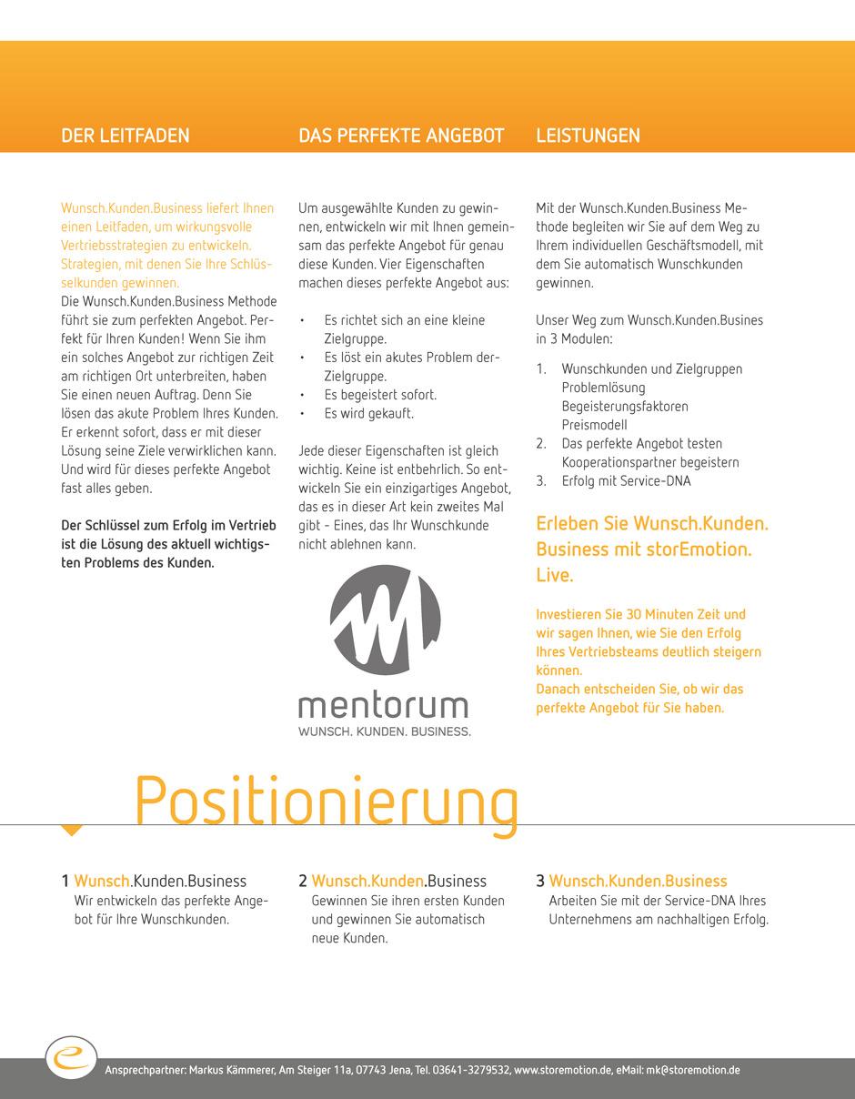 Positionierung2