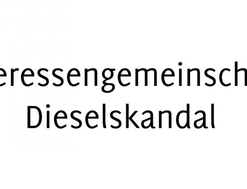 Interessengemeinschaft Dieselskandal