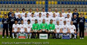 Mannschaftsfoto FC Carl Zeiss Jena