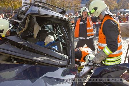 Crash auf Jenaer Marktplatz
