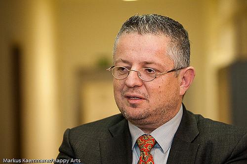 Thüringer Innenminister Peter M. Huber