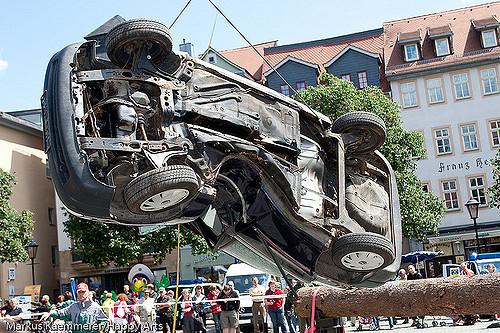 Verkehrssicherheitstag mit Crashsimulation
