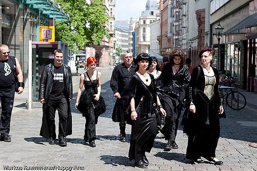Wave Gothic Treffen Leipzig
